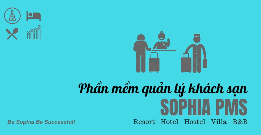 Phan mem quan ly khach san mini Sophia PMS